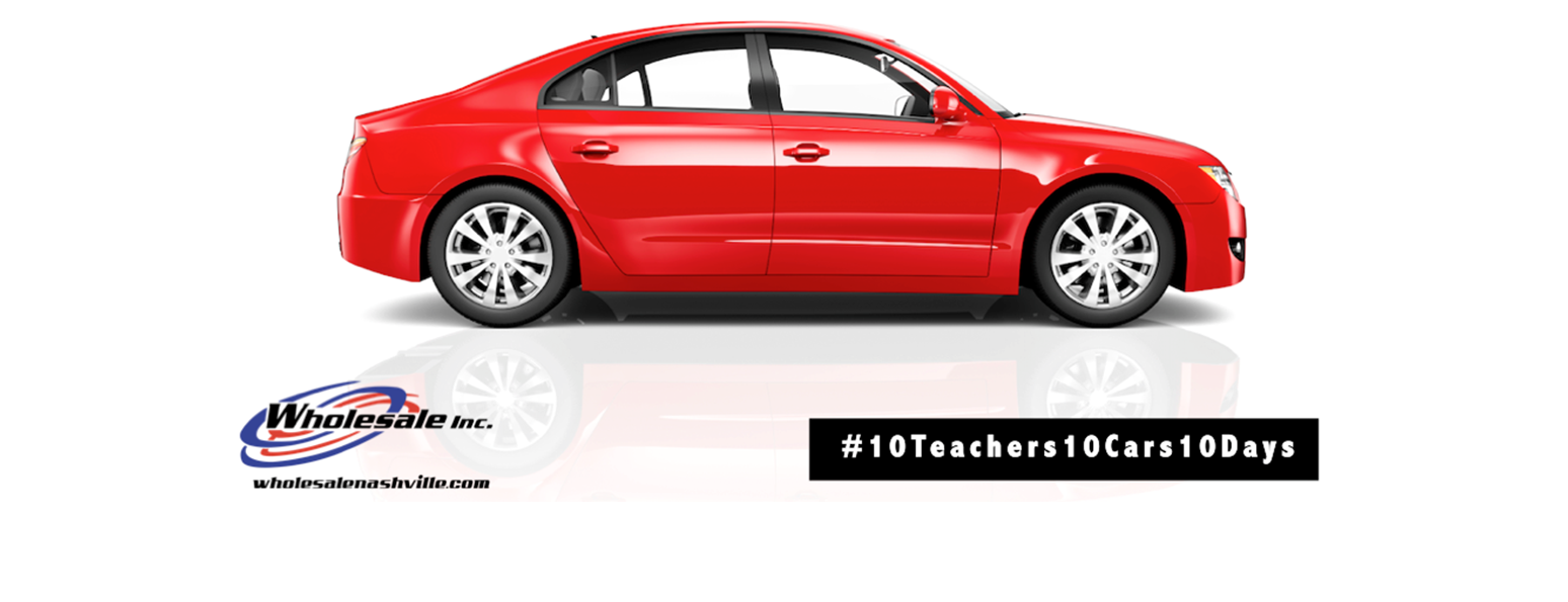 Nominate a teacher to win a car from @wholesaleinc!